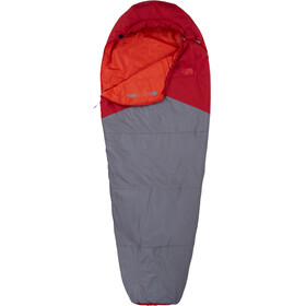 The North Face Aleutian 55/13 Sleeping Bag Regular Cardinal Red/Zinc Grey
